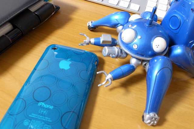 iSkin ソフトケース solo FX for iPhone 3G/3GSの写真