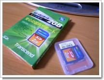 Tanscend SDカード 2GB