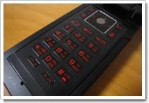 ドコモケータイ FOMA SO903iTVのキーボード