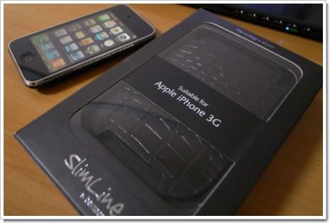 Beyza クロコダイル調スリムラインレザーケース for iPhone 3Gの写真