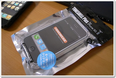 TUNE SHELL Plus for iPhone 3Gの写真
