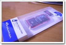 SONY Walkman S710Fシリーズ用 クリアケース CKH-NW710の写真