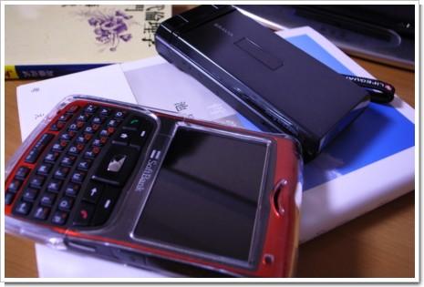 ケータイとスマートフォンの写真