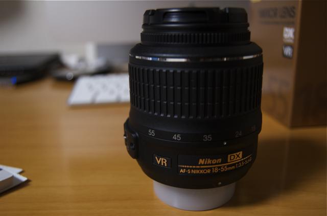 Nikon AF-S DX NIKKOR 18-55mm F3.5-5.6G VR AFSDX18-55GVR ニコンDXフォーマット専用の写真